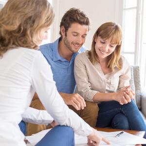 Asesoramiento e inversión círculo